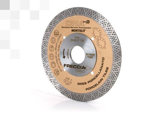 """Disco Diamantato CGX115 """"Freccia Oro"""" ideale per gres porcellanato"""