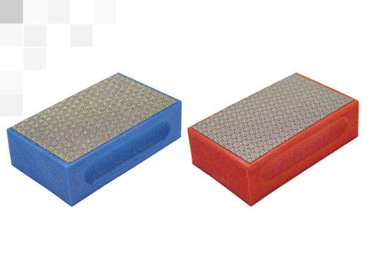 diamond pad for porcelain and glass