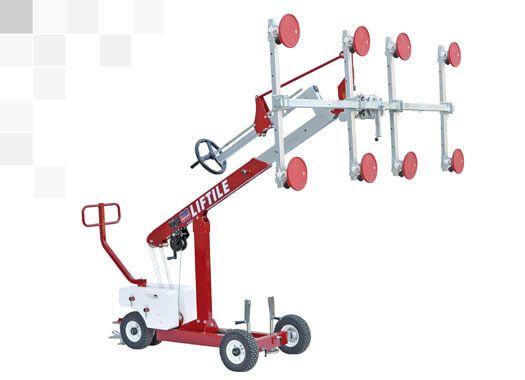special lifting system for big format porcelain slabs