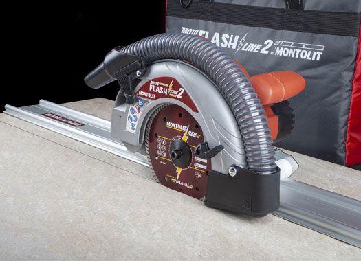MOTO FLASH LINE 2 - Sistema motorizzato per taglio a secco