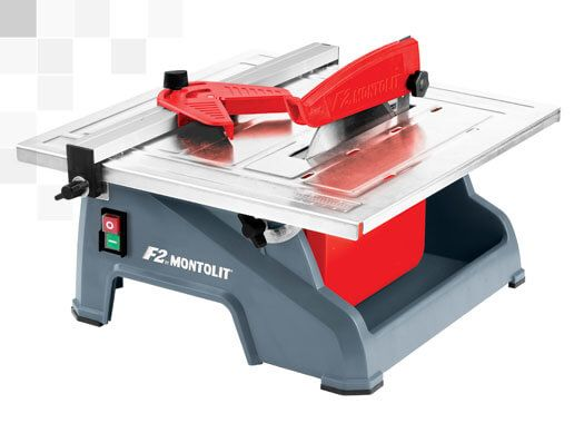 ELECTRIC TILE SAW FOR CUTTING SMALL TILES – F2 MONTOLIT