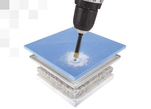 Special Drill Bit For Ceramic Tiles