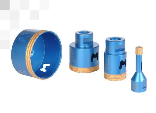 Diamond Core-Bits for Dry drilling Mondrillo FS