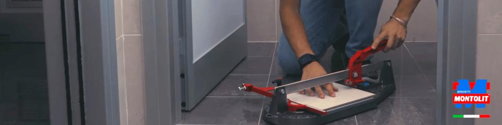 montolit minipiuma cutting tiles in tiny spaces
